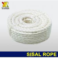Buy cheap Bleaching craft sisal rope from wholesalers