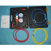 Buy cheap AC Manifold Gauge Set with two way Automotive AC Refrigeration MST-134A with high quality from wholesalers