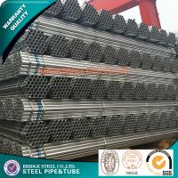 Buy cheap Q235 Q195 EFW Structural Steel Pipe ASTM A53 , Thick Wall 0.5mm - 20mm from wholesalers