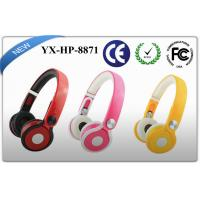 Buy cheap Multi - angle Foldable stereo headphones in metal rims with beautiful colors product