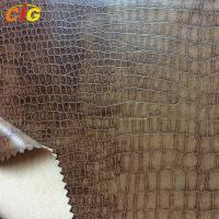Buy cheap Crocodile PU Synthetic Leather for Sofa / Chairs / Upholstery product