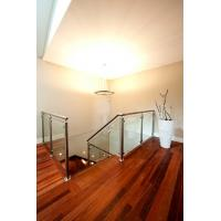 Buy cheap Stainless Steel Deck Glass Railing/ Balcony Glass Balustrade Interior Railing Design product