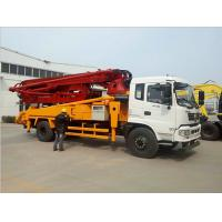Buy cheap 32m H Shaped Outrigger Concrete Pump Truck 9600*2500*3500 MM Easy Operation from wholesalers