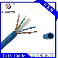 Buy cheap Cat6 Lan Cable Wires Flexible Ethernet Cable product