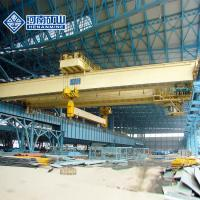 Buy cheap Lifting Beam Electro Magnet Double Girder Overhead Crane Q235b / Q345e Steel Material from wholesalers