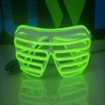 Buy cheap beautiful shutter glasses/el glasses/glow glasses from wholesalers