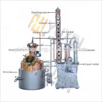Quality Red Copper/Stainless Steel Micro Vodka Distillery Equipment for sale for sale