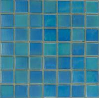 20x20mm glossy glass mosaic tiles swimming pool mosaic for Swimming pool wall tiles