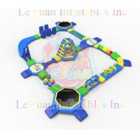 Buy cheap Commercial Pool Inflatable Water Park For 100 People Entertainment from wholesalers