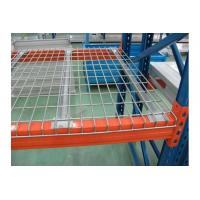 Buy cheap Zinc Finish Steel Pallet Rack Wire Decking Good  Fire Safety Performance from wholesalers