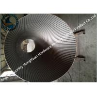 Buy cheap Stainless Steel Wedge Wire Screen Filter With Point Welding Technique from wholesalers