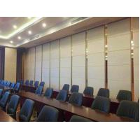 Buy cheap Restaurant Movable Sound Proof Walls Leather Surface Aluminium Profile Hanging System from wholesalers