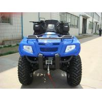 Buy cheap 400cc ATV Quad Bike 4 * 4F / R Independent Suspension Iron / Aluminum Rim Electric Shift from wholesalers