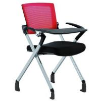 Buy cheap Armless Aluminum Stackable Mesh Fabric Folding Conference Chairs 100mm Gas Lift from wholesalers