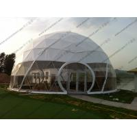 Buy cheap Large Aluminium Geodesic Dome Tent PVC Professional Easy Transportation Trouble Free from wholesalers