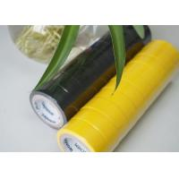 Buy cheap Flame Retardant Yellow / Black PVC Electrical Tape Low Lead And Low Cadimum from wholesalers