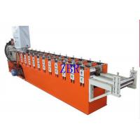 Buy cheap Automatic Galvanized Window Door Frame Making Machine With Color Touch Screen product
