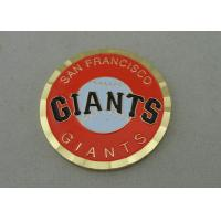 Die Struck San Francisco Giants Personalized Coins 2.0 Inch and Gold Plating