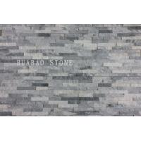 Buy cheap White Quartzite Cultured Stone Panels Custom For Indoor Outdoor Garden Wall from wholesalers