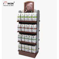 Buy cheap Food Shop 4-Layer Wood Flooring Display Rack , Coffee Bag And Nuts Display Units from wholesalers