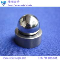 Buy cheap Grinding polished tungsten carbide ball and valve seats excellent performance tungsten carbide ball and seat from wholesalers
