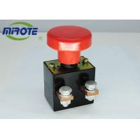 Buy cheap Custom Micro Latching Push Button Switch  , Mushroom Emergency Stop Button 125A from wholesalers