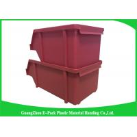 Buy cheap 20L Shelving Industrial Plastic Totes , Hardware Storage Containers Space Saving from wholesalers