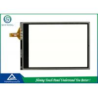 Buy cheap Resistive Touchscreen Panels Transparent / Resistive Touch Panel 4 Wire product