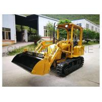 Buy cheap Cheap Chinese Farm Machiney Mini Bulldozer with 4-in-1Front Loader from wholesalers