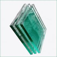 Buy cheap Clear and colored PVB SGP safety Laminated Glass for railings balcony facade from wholesalers