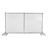 Buy cheap Security Temporary Chain Link Panel Fence For Construction Corrosion Resistance from wholesalers