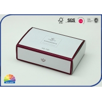 Buy cheap 382g Silver Paper Folding Carton Box For Cosmetics from wholesalers