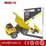 Dump truck 3D puzzle car model kits DIY toys for boy , 3d puzzle truck
