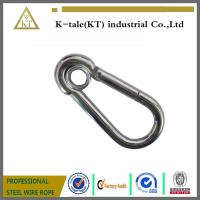 Buy cheap cheap and good quality din5299 snap hook suit for steel wire rope metal hardware from wholesalers