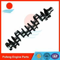 Buy cheap CUMMINS engine parts exporters, 6CT-8.3 forged crankshaft for Hyundai excavator R300-5 from wholesalers