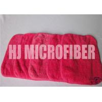 Buy cheap Red Rose Cleaning Microfiber Cloths With 88% High Water - Absorption Rate 26X36cm from wholesalers