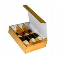Buy cheap China manufacturer Promotional Die Cut Paper Card Board Wine Boxes from wholesalers