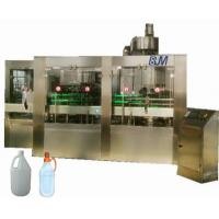 China PET / HDPE / GLASS Bottle Automatic Liquid Filling Machine For Edible Oil / Soy Sauce on sale