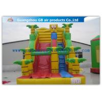 Buy cheap Spongebob Big Kid Inflatable Water Slides For Parties , Blow Up Outdoor Water Slides product