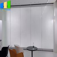 Buy cheap Frameless Sliding Partition Walls Glazed Door Movable Partition Glass Walls For Restaurant from wholesalers