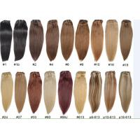 Buy cheap Unprocessed Colored Human Hair Extensions , Colored Hair Weave from wholesalers