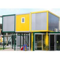 Buy cheap Vinyl Sheet  Steel Structure Building 6055mm x 2435mm x 2790mm for Classroom from wholesalers