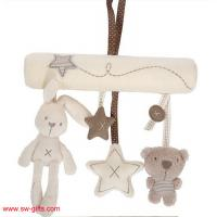 Buy cheap Baby Rabbit Toy Baby Bed Stroller Hanging Rattle Plush Soft Musical Mobile Toy Carriages from wholesalers