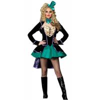 Buy cheap Alice in Wonderland Costumes wholesale Delightful Mad Hatter Womens Costume product