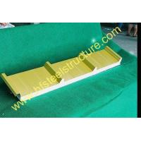 Buy cheap Insulated Refrigerated Polyurethane Foam Sandwich Panel For Prefabricated House from wholesalers
