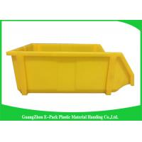 Buy cheap Commercial Stackable Bins With Hinged Lids , Heavy Duty Warehouse Storage Containers from wholesalers