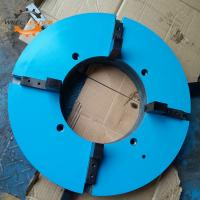 Buy cheap Durable 4 Jaw Type Welding Positioner Chuck Self Centering Automatic Clamp product