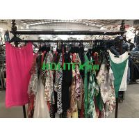 Buy cheap Used Summer Clothes Silk Blouse , Second Hand Branded Clothes For Cambodia from wholesalers