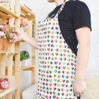 Buy cheap Custom Printed Cotton Kitchen Apron Canvas Fabric Uniform No Sleeve from wholesalers
