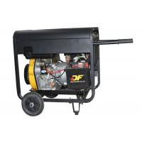 Buy cheap Portable Small Welder Generator 190A Electric Start With Wheels And Handle from Wholesalers